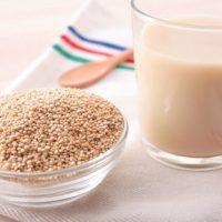 Leite de quinoa