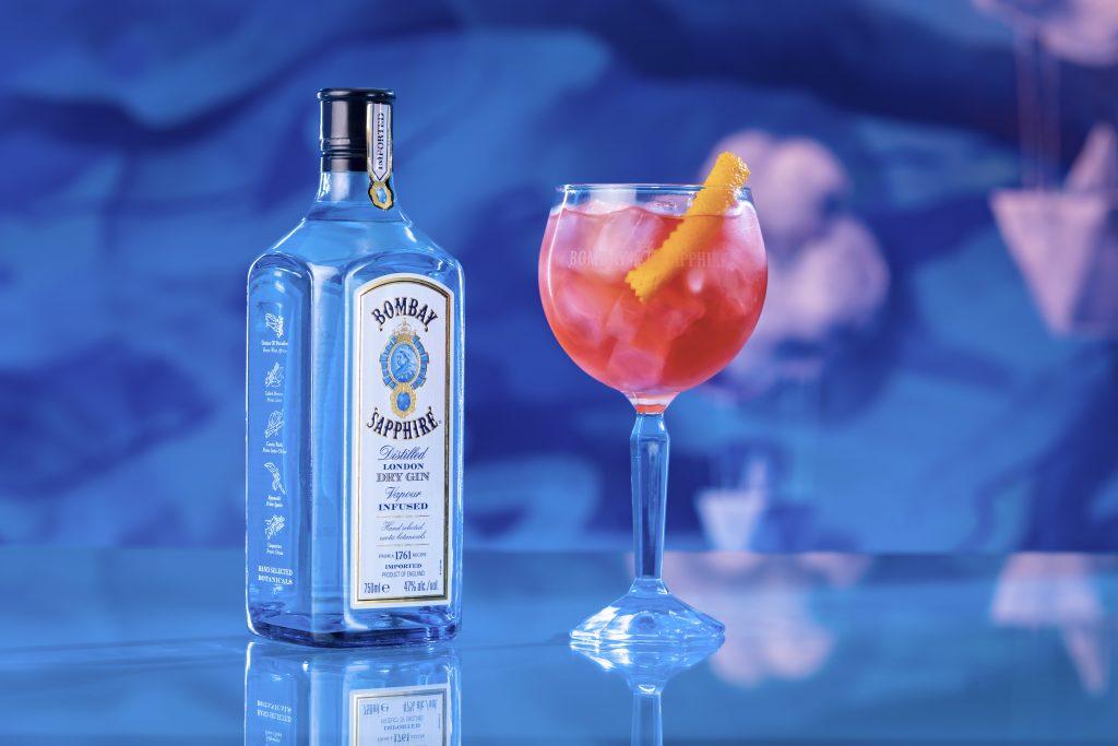 bombay tea tonic - receitas drink com gin